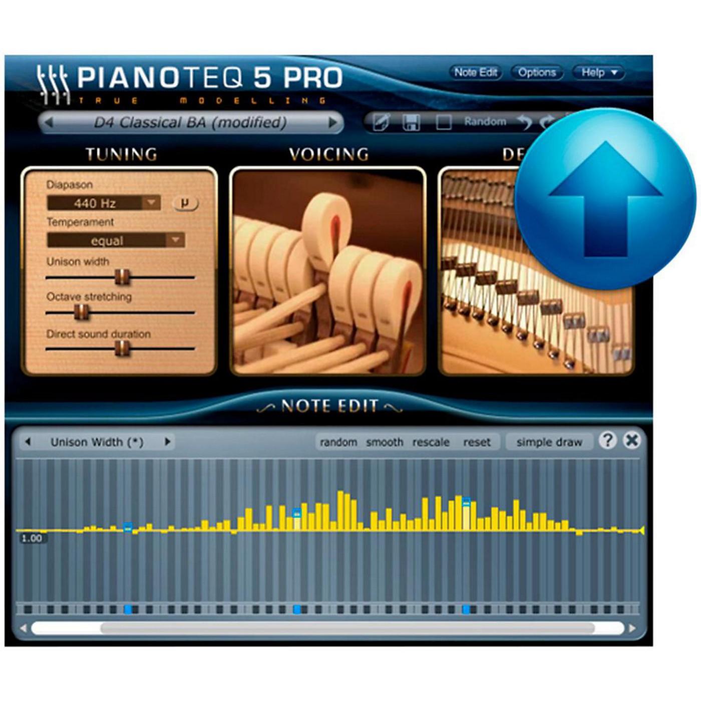 Modartt Pianoteq 5 Pro Ugrade from Standard thumbnail