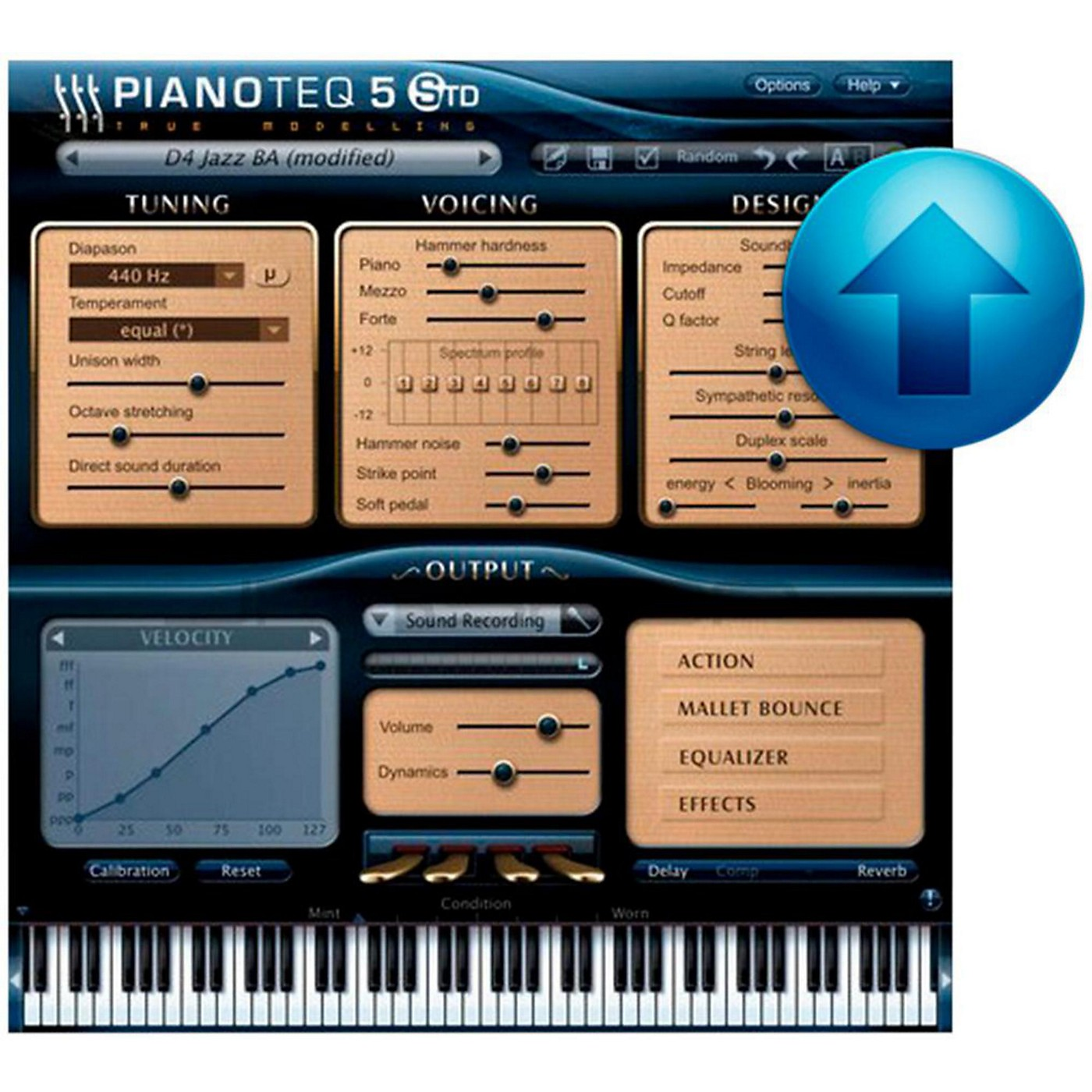 Modartt Pianoteq 5 Standard Upgrade from Stage/Play thumbnail