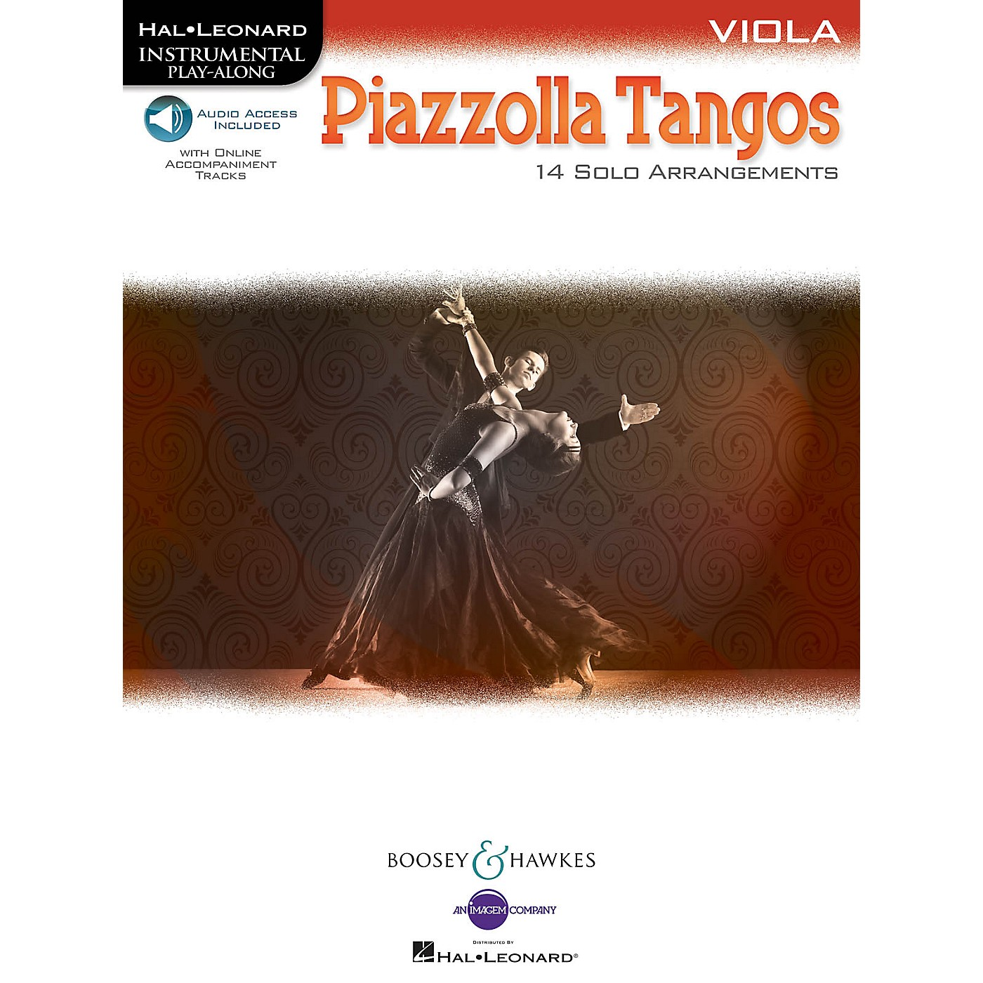 Boosey and Hawkes Piazzolla Tangos (Viola) Boosey & Hawkes Chamber Music Series Softcover Audio Online thumbnail
