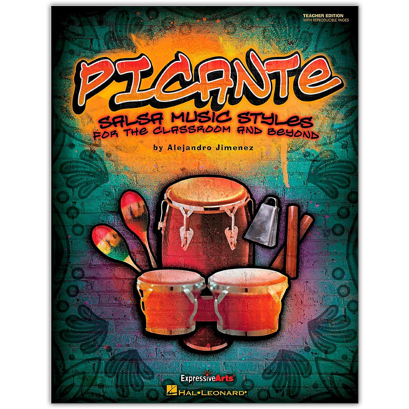 Hal Leonard Picante - Salsa Music Styles for the Classroom & Beyond Teacher's Edition (Orff) thumbnail