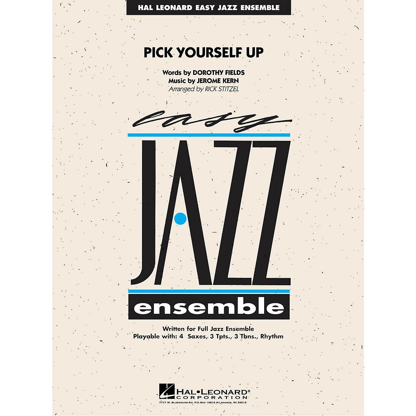 Hal Leonard Pick Yourself Up Jazz Band Level 2 Arranged by Rick Stitzel thumbnail