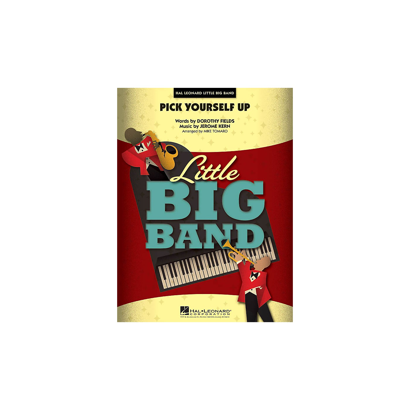 Hal Leonard Pick Yourself Up Jazz Band Level 4 Arranged by Mike Tomaro thumbnail