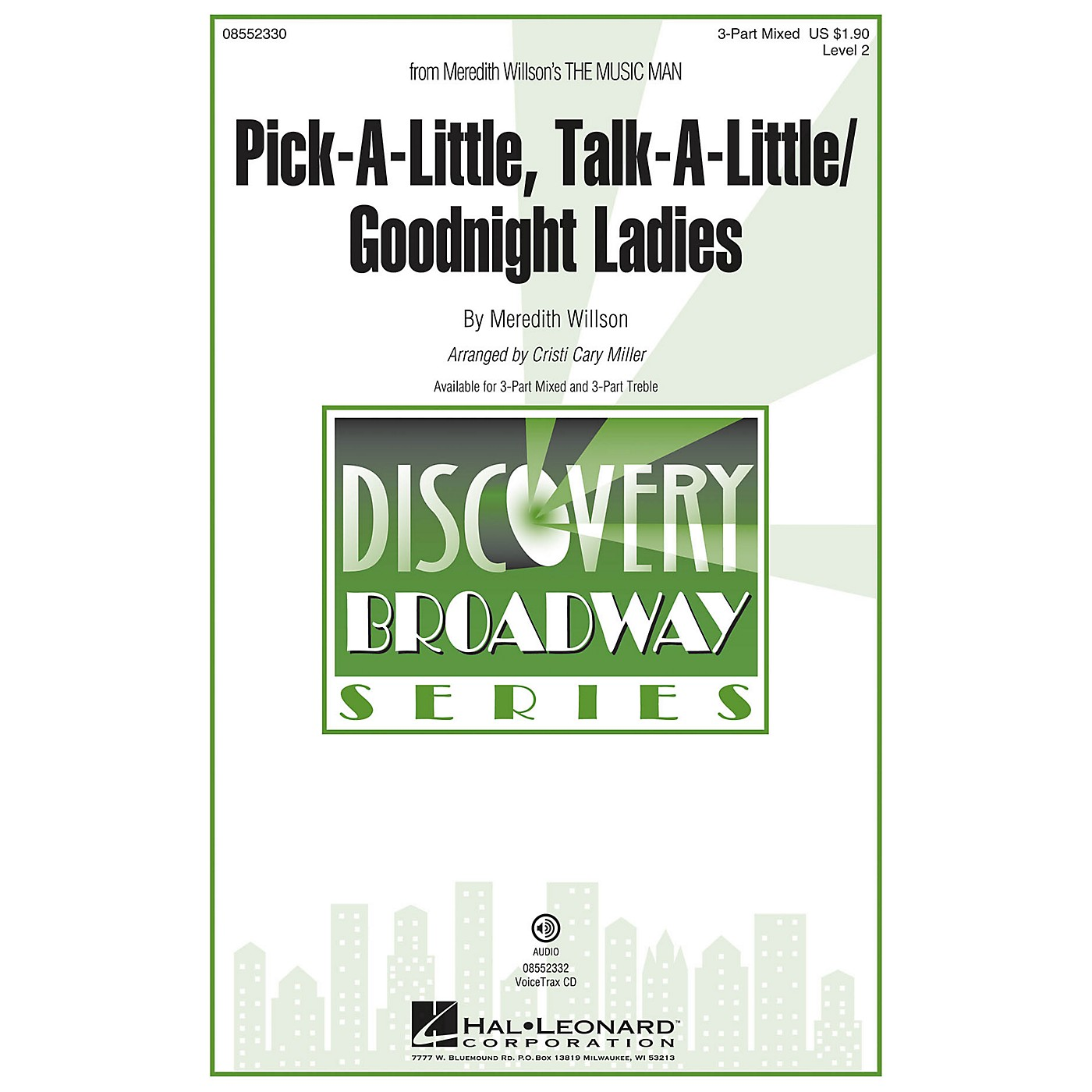 Hal Leonard Pick-a-little, Talk-a-little/Goodnight Ladies 3 Part Treble Arranged by Cristi Cary Miller thumbnail