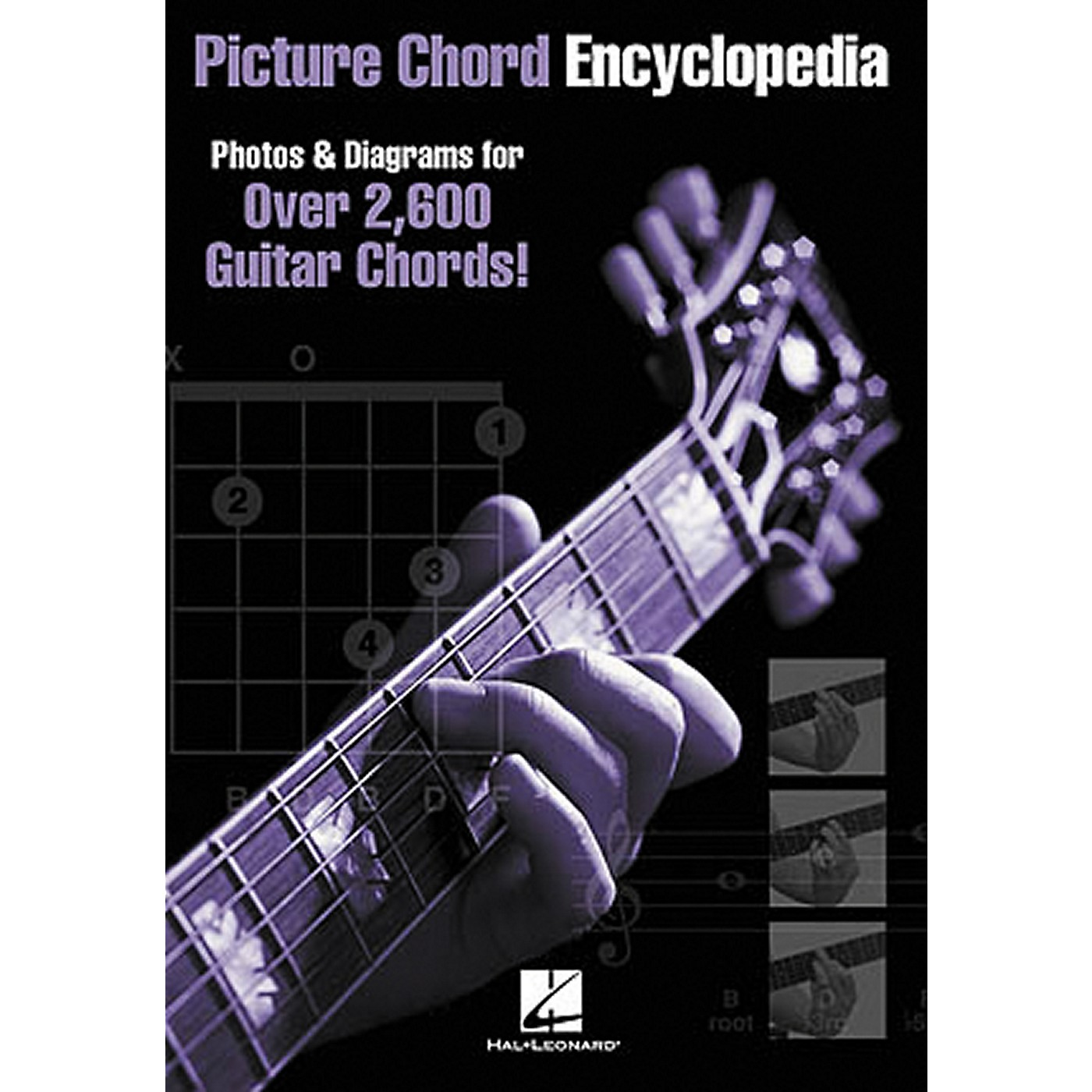 Hal Leonard Picture Chord Encyclopedia Guitar Book 6x9 thumbnail
