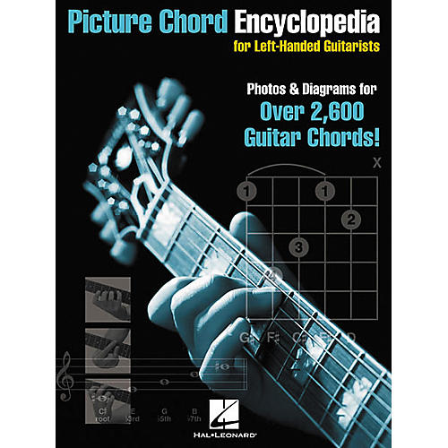 Hal Leonard Picture Chord Encyclopedia for Left-Handed Guitarists 9x12 Book thumbnail