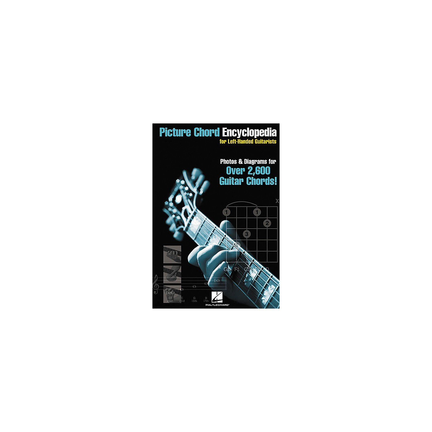 Hal Leonard Picture Chord Encyclopedia for Left-Handed Guitarists Book thumbnail