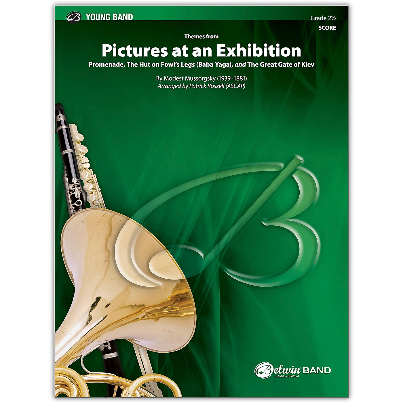 BELWIN Pictures at an Exhibition Conductor Score 2.5 (Easy to Medium Easy) thumbnail