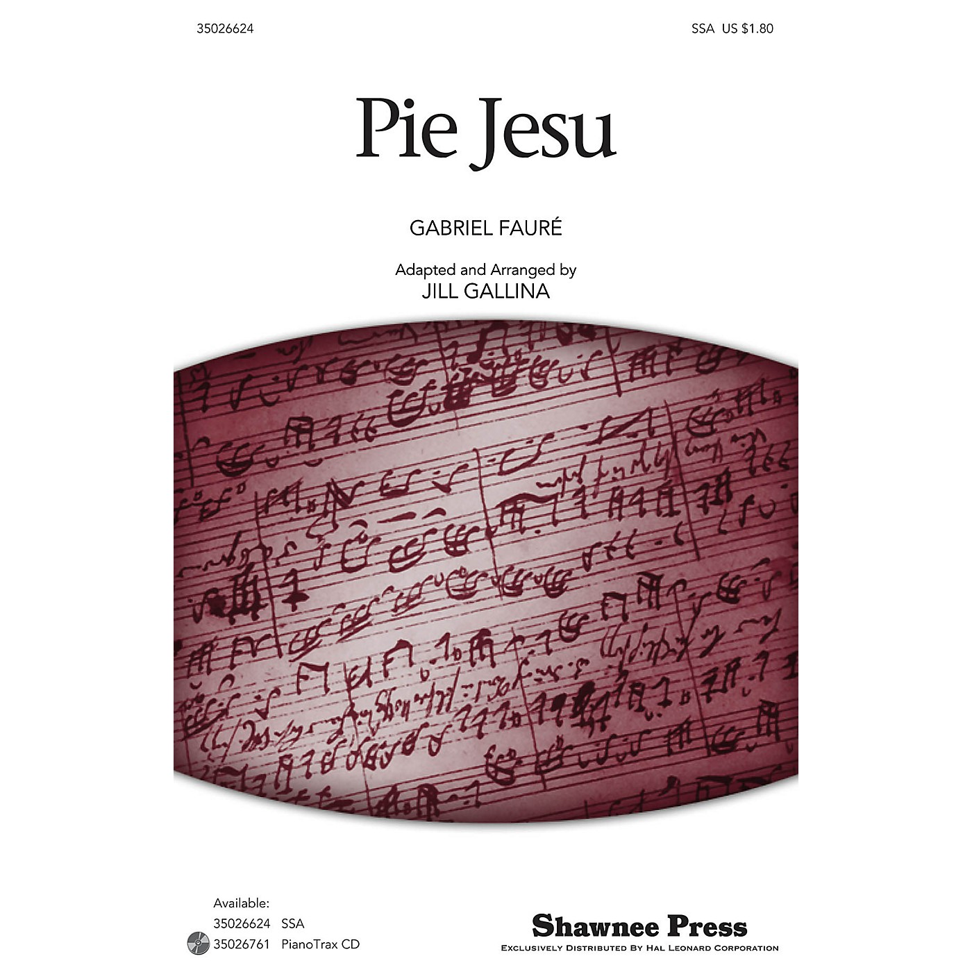 Shawnee Press Pie Jesu (Classics for Children Series) SSA arranged by Jill Gallina thumbnail