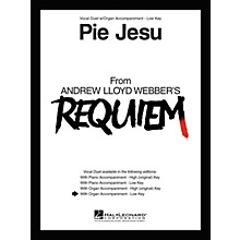 Hal Leonard Pie Jesu From Requiem Vocal Duet Low Voice with Organ Accompaniment