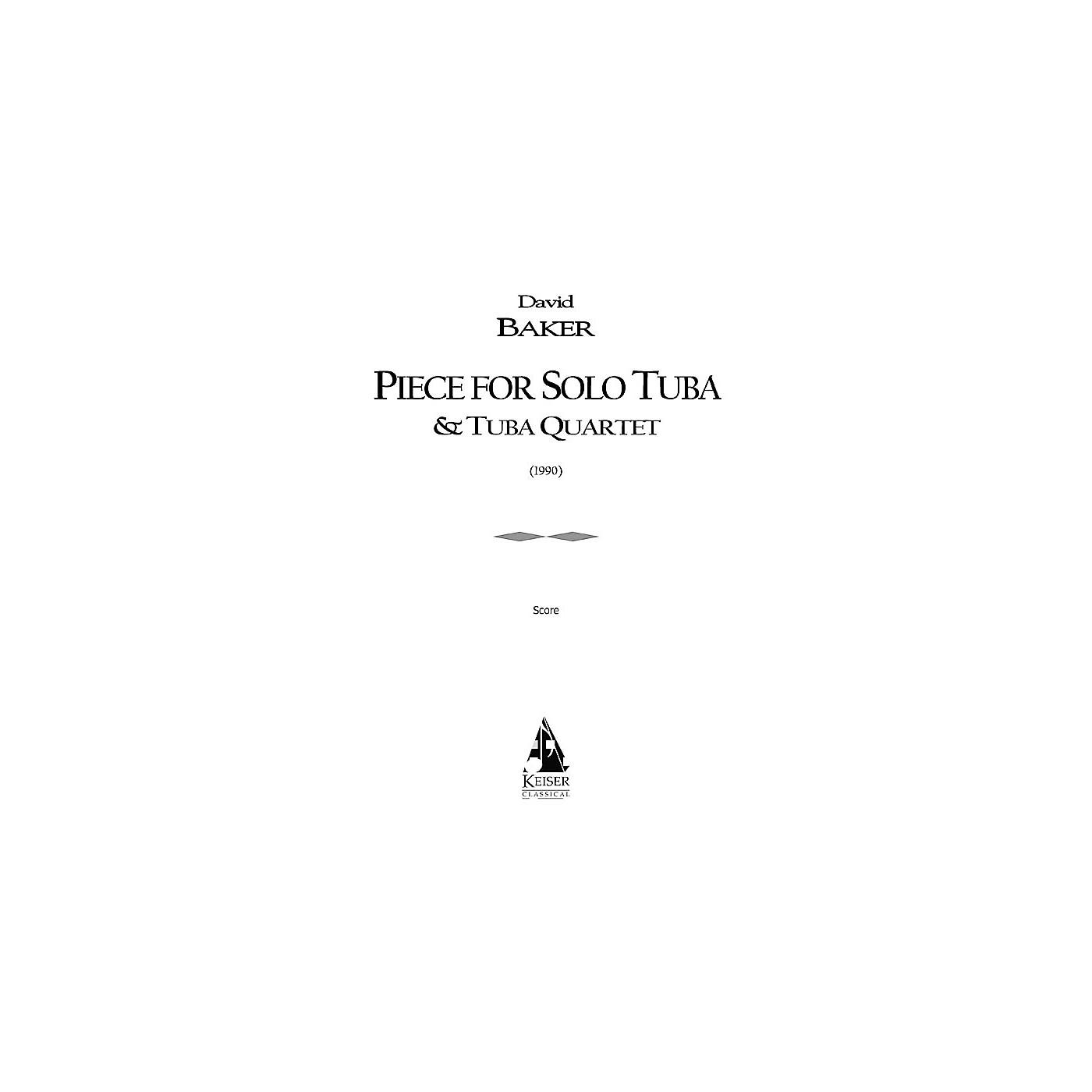 Lauren Keiser Music Publishing Piece for Solo Tuba/Tuba Quartet LKM Music Series thumbnail
