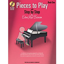 Willis Music Pieces to Play - Book 1 with CD Willis Series Softcover with CD Composed by Edna Mae Burnam