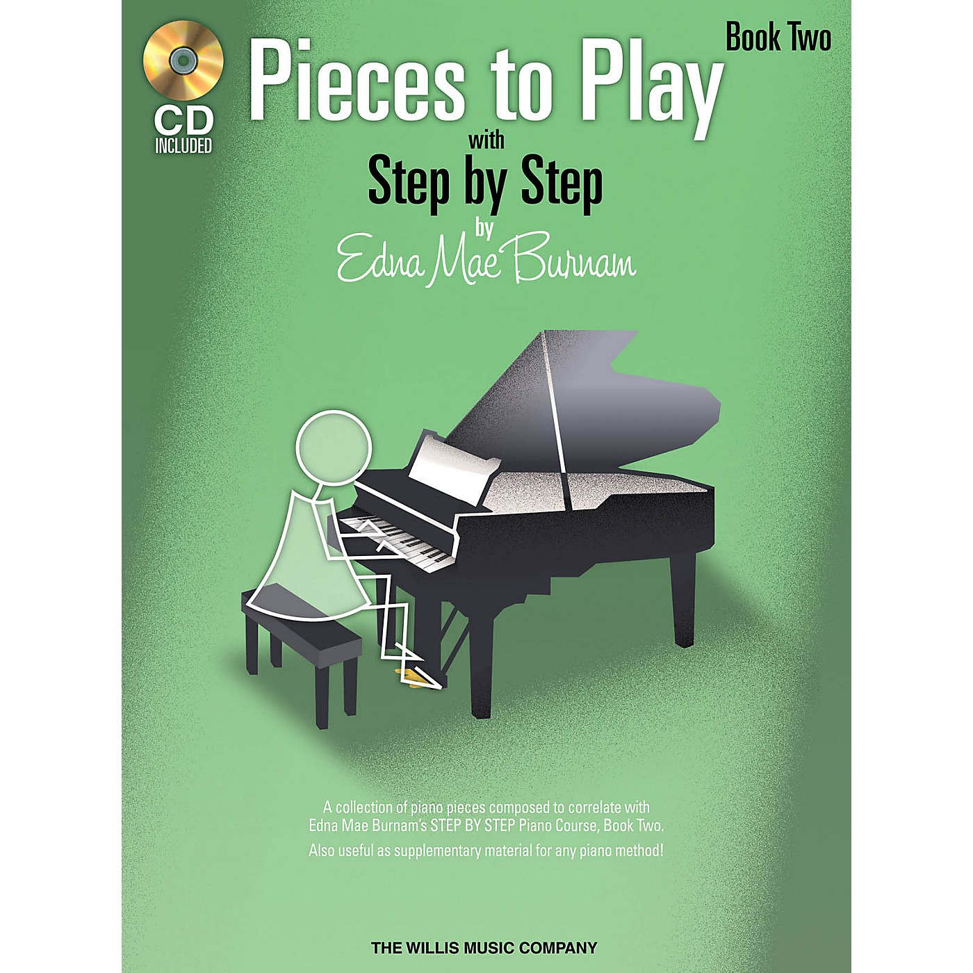 Willis Music Pieces to Play - Book 2 with CD Willis Series Book with CD by Edna Mae Burnam (Level Elem) thumbnail