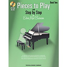 Willis Music Pieces to Play - Book 2 with CD Willis Series Book with CD by Edna Mae Burnam (Level Elem)