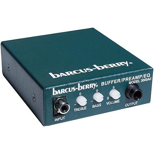 Barcus Berry Piezo Buffer Preamp/EQ- for 6100 & 5600 thumbnail