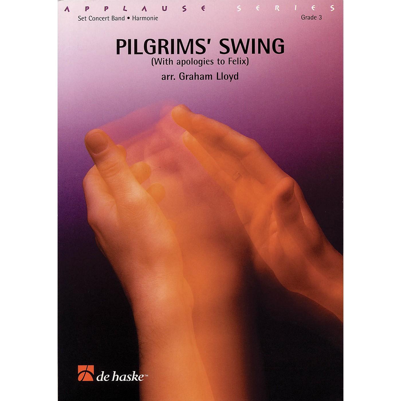 De Haske Music Pilgrims' Swing Full Score Concert Band Level 3 Arranged by Graham Lloyd thumbnail