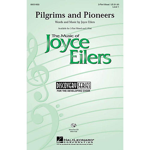 Hal Leonard Pilgrims and Pioneers 3-Part Mixed composed by Joyce Eilers thumbnail