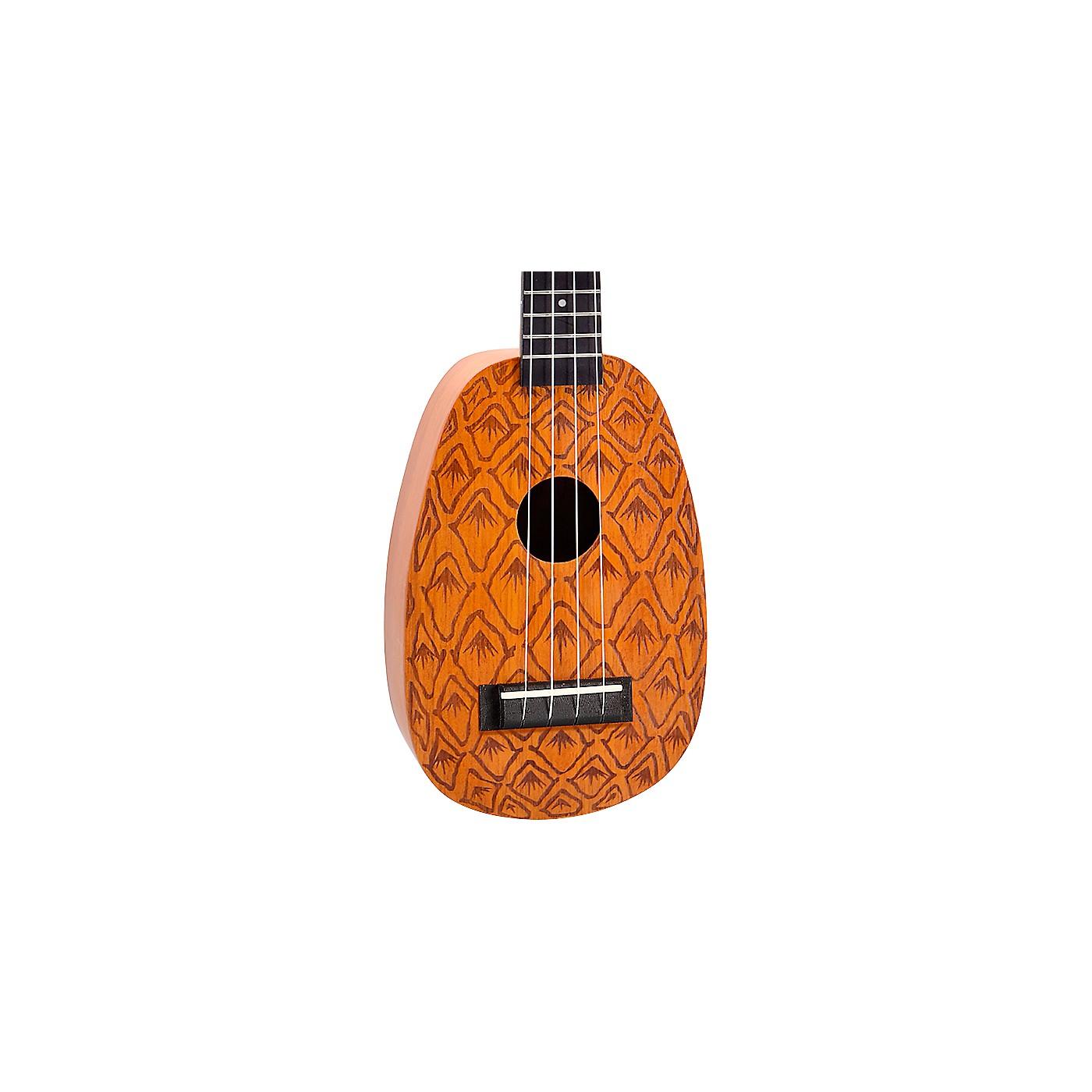 Mahalo Pineapple Laser Engraved Soprano Ukulele thumbnail