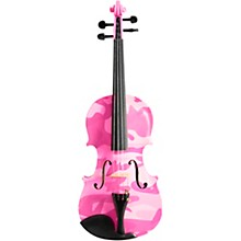 Rozanna's Violins Pink Camouflage Series Violin Outfit