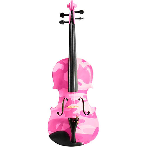 Rozanna's Violins Pink Camouflage Series Violin Outfit thumbnail