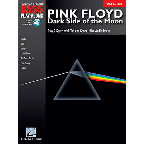 Hal Leonard Pink Floyd - Dark Side of the Moon - Bass Play-Along Series, Volume 23 (Book/CD) thumbnail