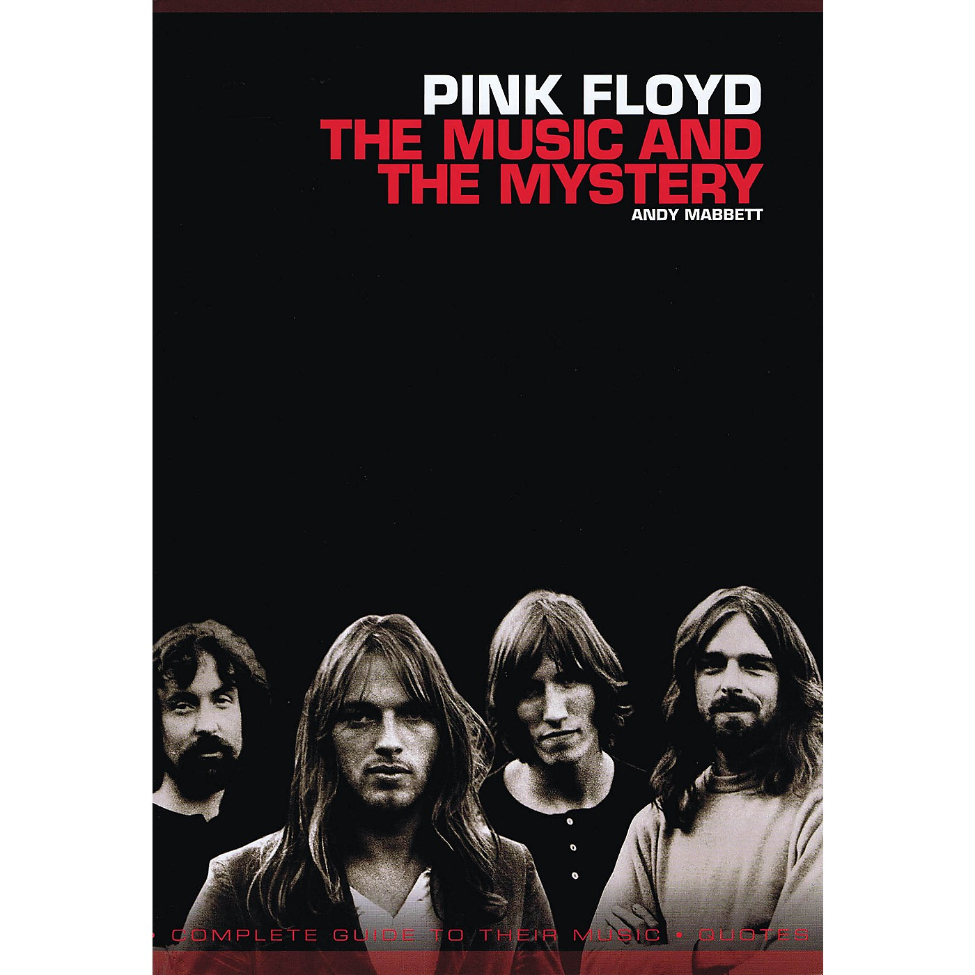 Omnibus Pink Floyd - The Music and the Mystery Omnibus Press Series Softcover Performed by Andy Mabbett thumbnail