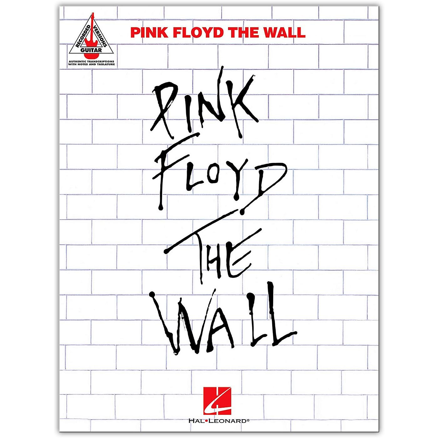 Hal Leonard Pink Floyd - The Wall Guitar Tab Songbook thumbnail