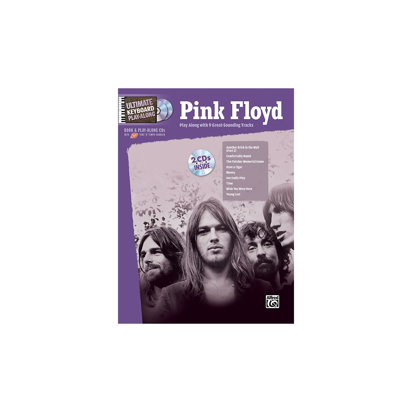 Alfred Pink Floyd - Ultimate Keyboard Play-Along (Book/CD) thumbnail