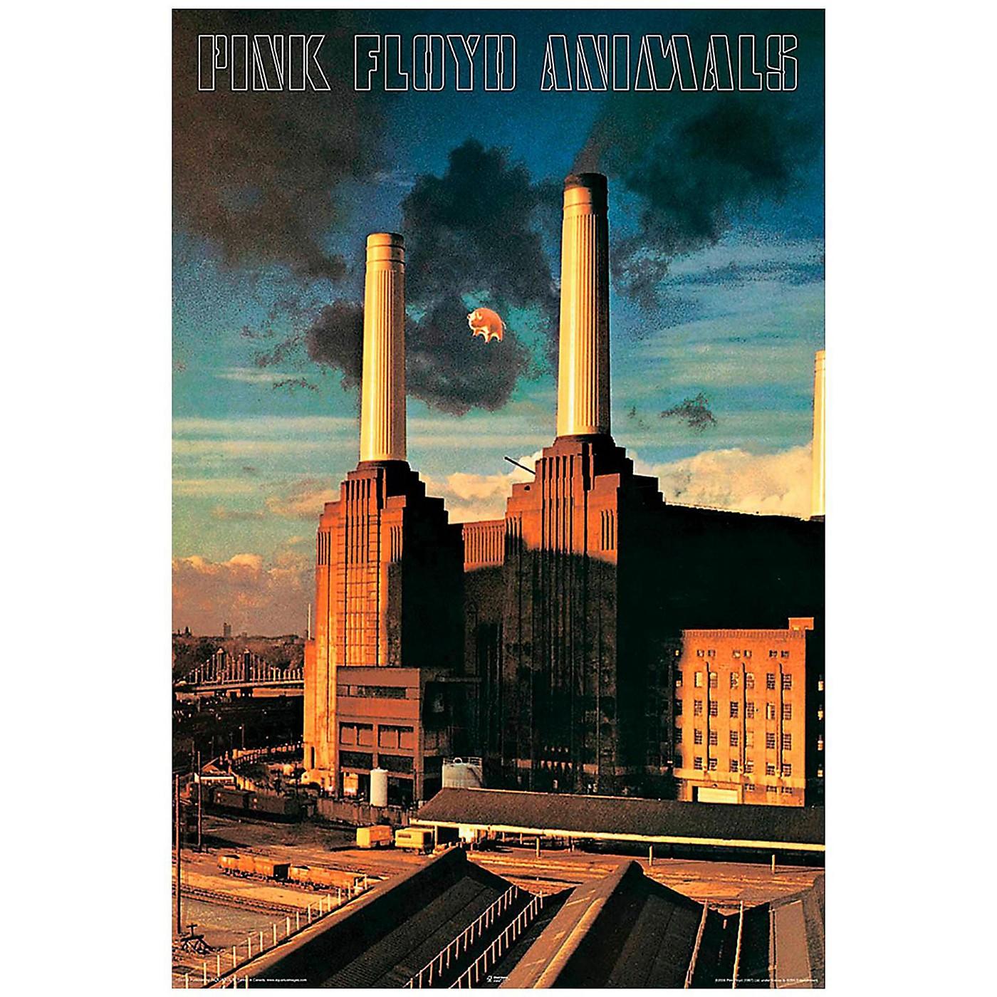 Hal Leonard Pink Floyd Animals Wall Poster thumbnail