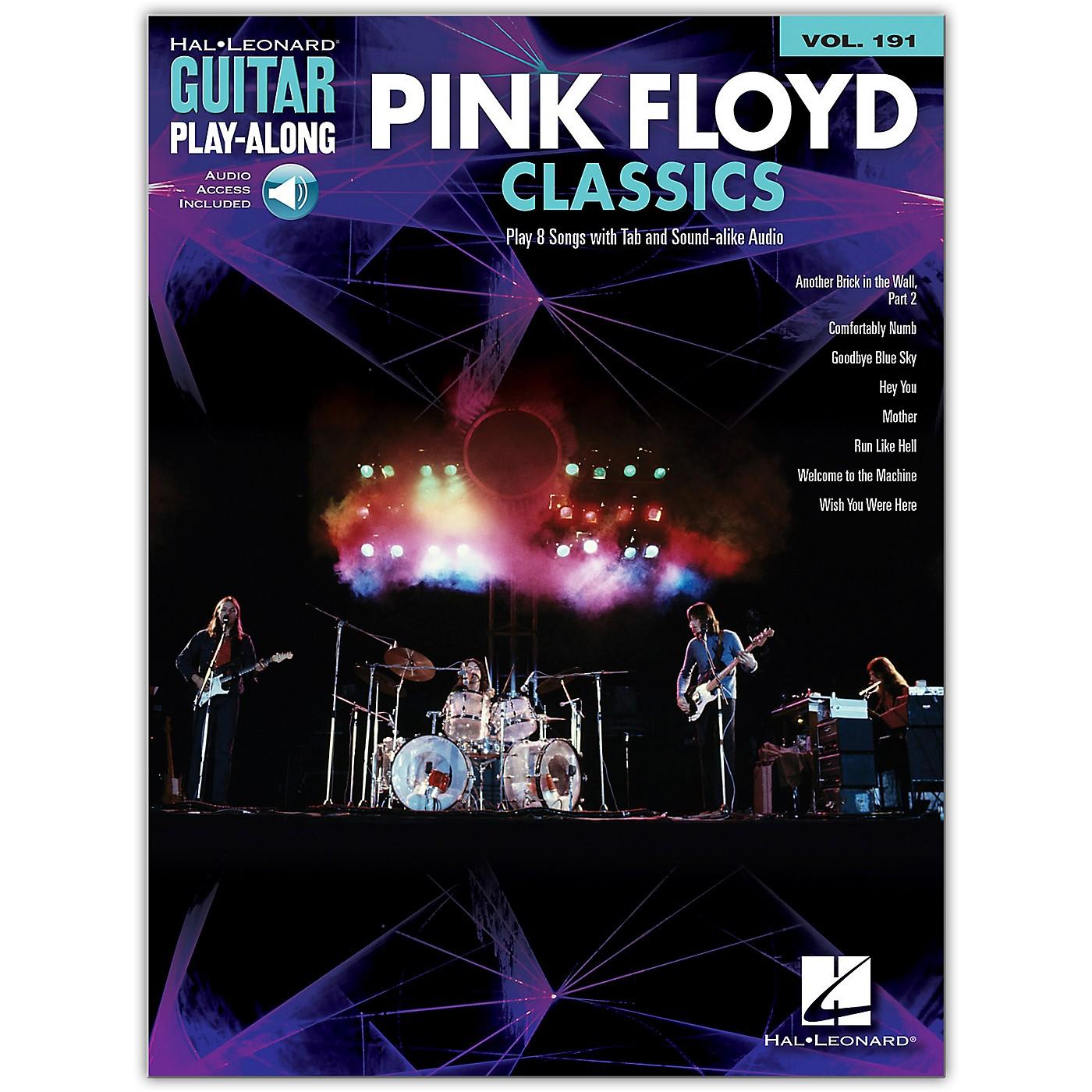 Hal Leonard Pink Floyd Classics Guitar Play-Along Volume 191 Book/Audio Online thumbnail