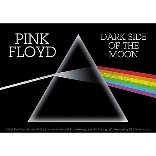 C&D Visionary Pink Floyd Dark Side Sticker thumbnail