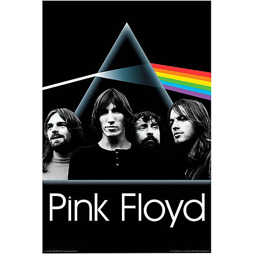 Hal Leonard Pink Floyd Dark Side of the Moon Group Wall Poster thumbnail
