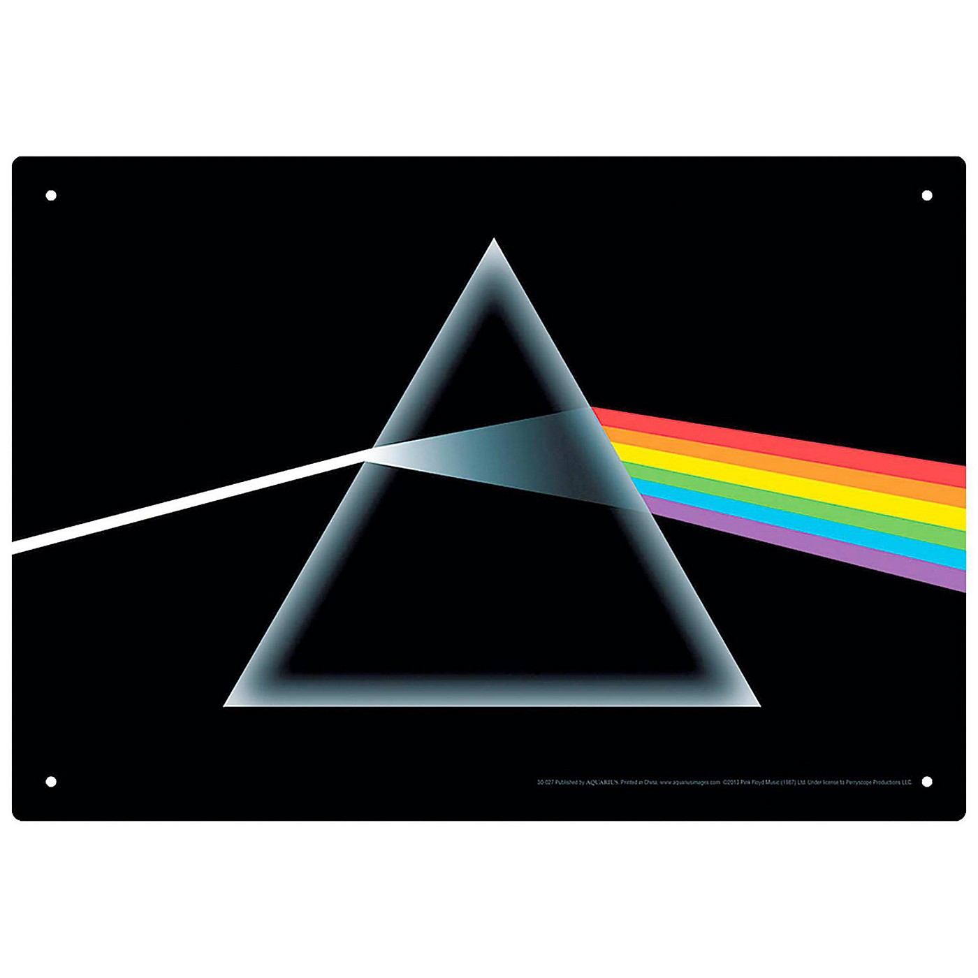 Hal Leonard Pink Floyd Dark Side of the Moon Tin Sign thumbnail