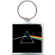 ROCK OFF Pink Floyd Key Ring Dark Side Of The Moon Album Keychain