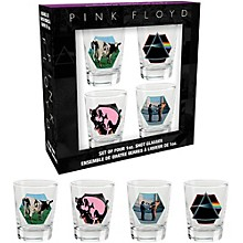 Hal Leonard Pink Floyd Pre 1987 Shotglasses (Set of 4)