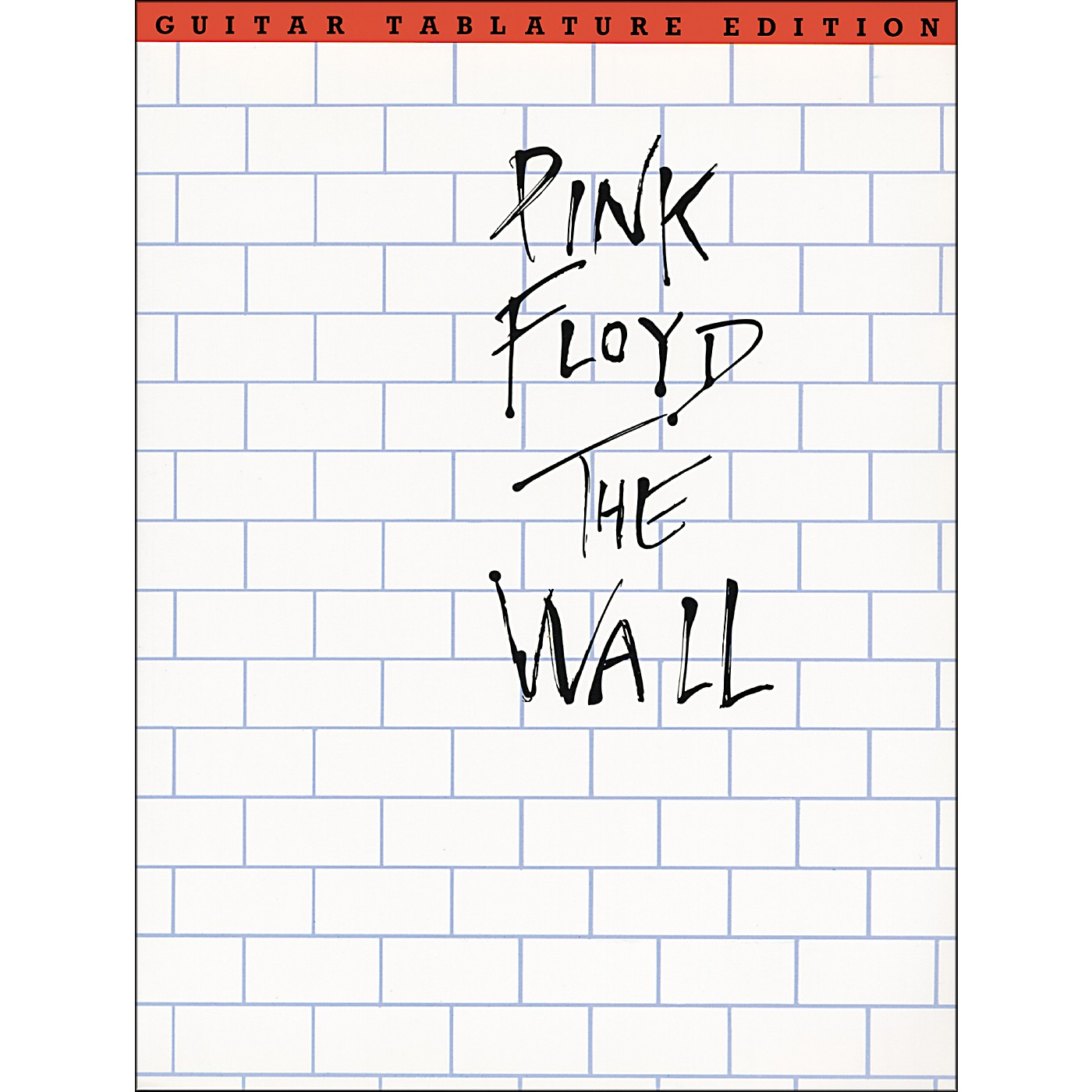 Music Sales Pink Floyd The Wall Guitar Tab Songbook thumbnail