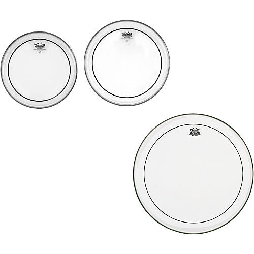 Remo Pinstripe Clear New Fusion Tom Drumhead Pack thumbnail