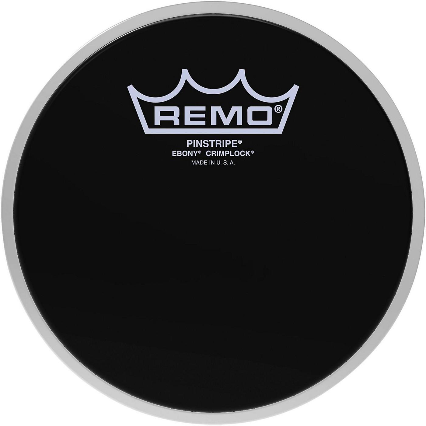 Remo Pinstripe Ebony Crimplock Drum Head thumbnail
