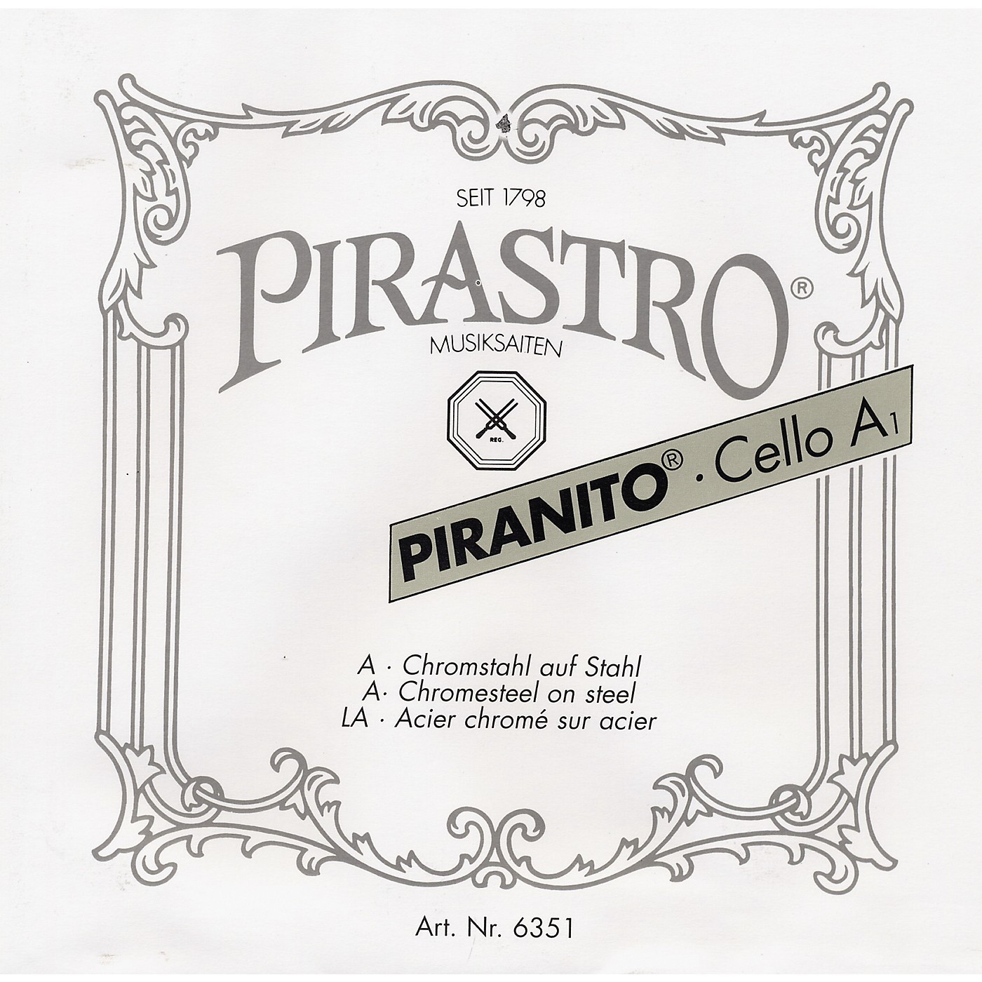 Pirastro Piranito Series Cello String Set thumbnail