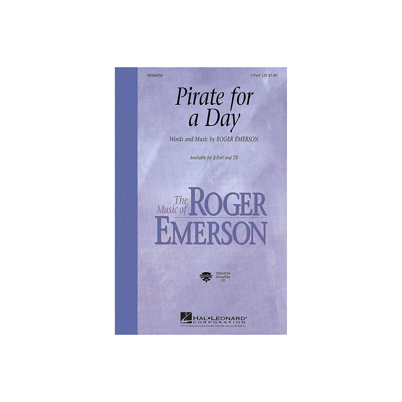 Hal Leonard Pirate for a Day 2-Part composed by Roger Emerson thumbnail