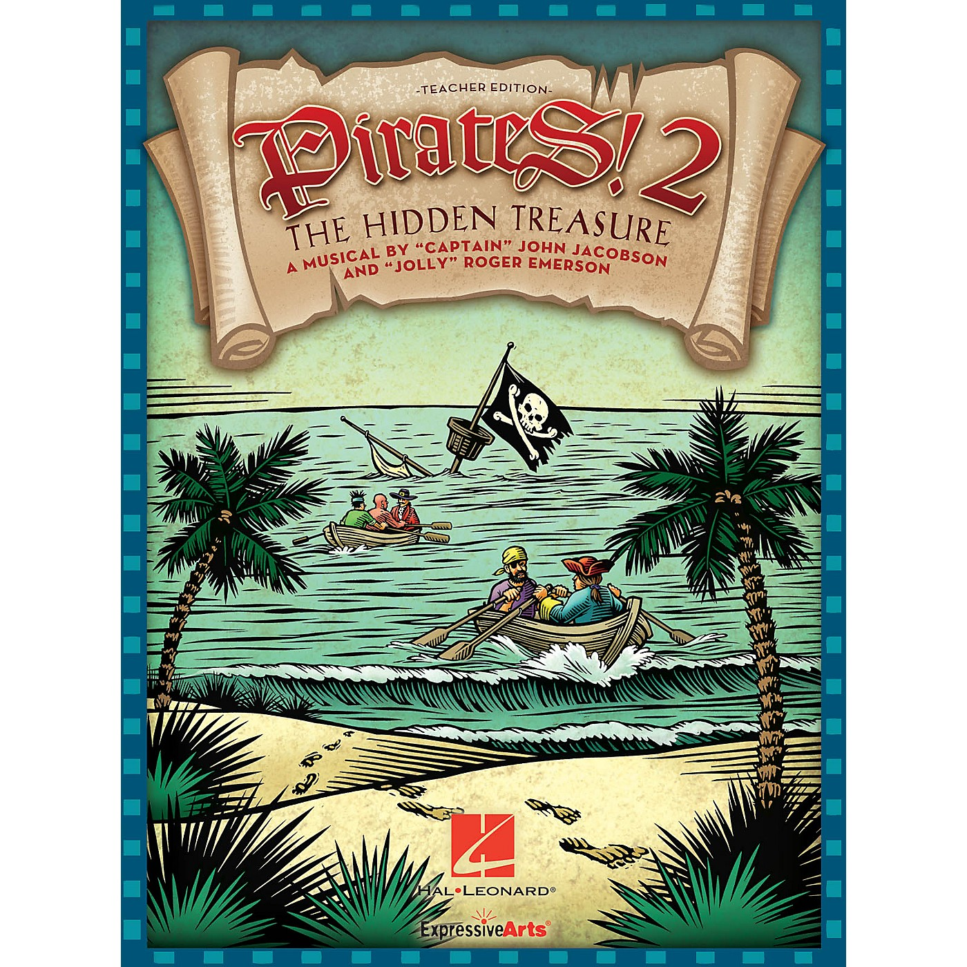 Hal Leonard Pirates 2: The Hidden Treasure (A Musical for Young Voices) Performance/Accompaniment CD by John Jacobson thumbnail