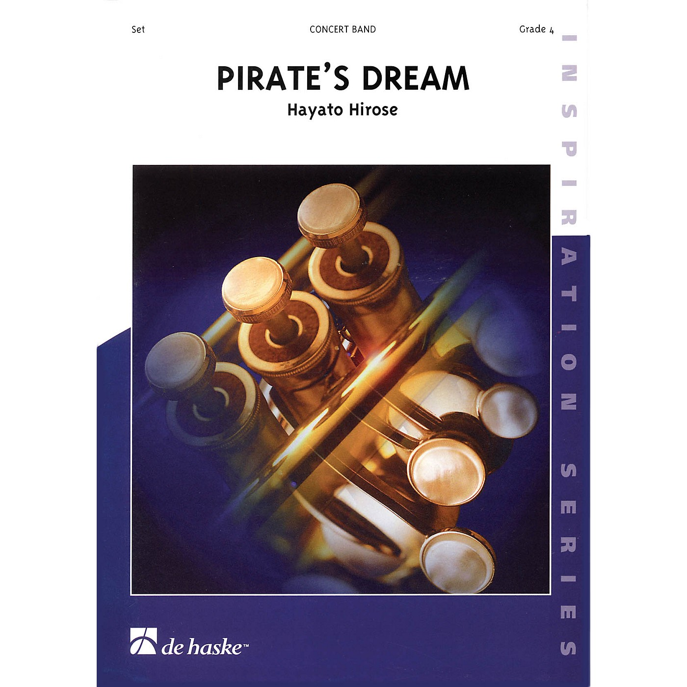 De Haske Music Pirate's Dream Full Score Concert Band Level 4 Composed by Hayato Hirose thumbnail