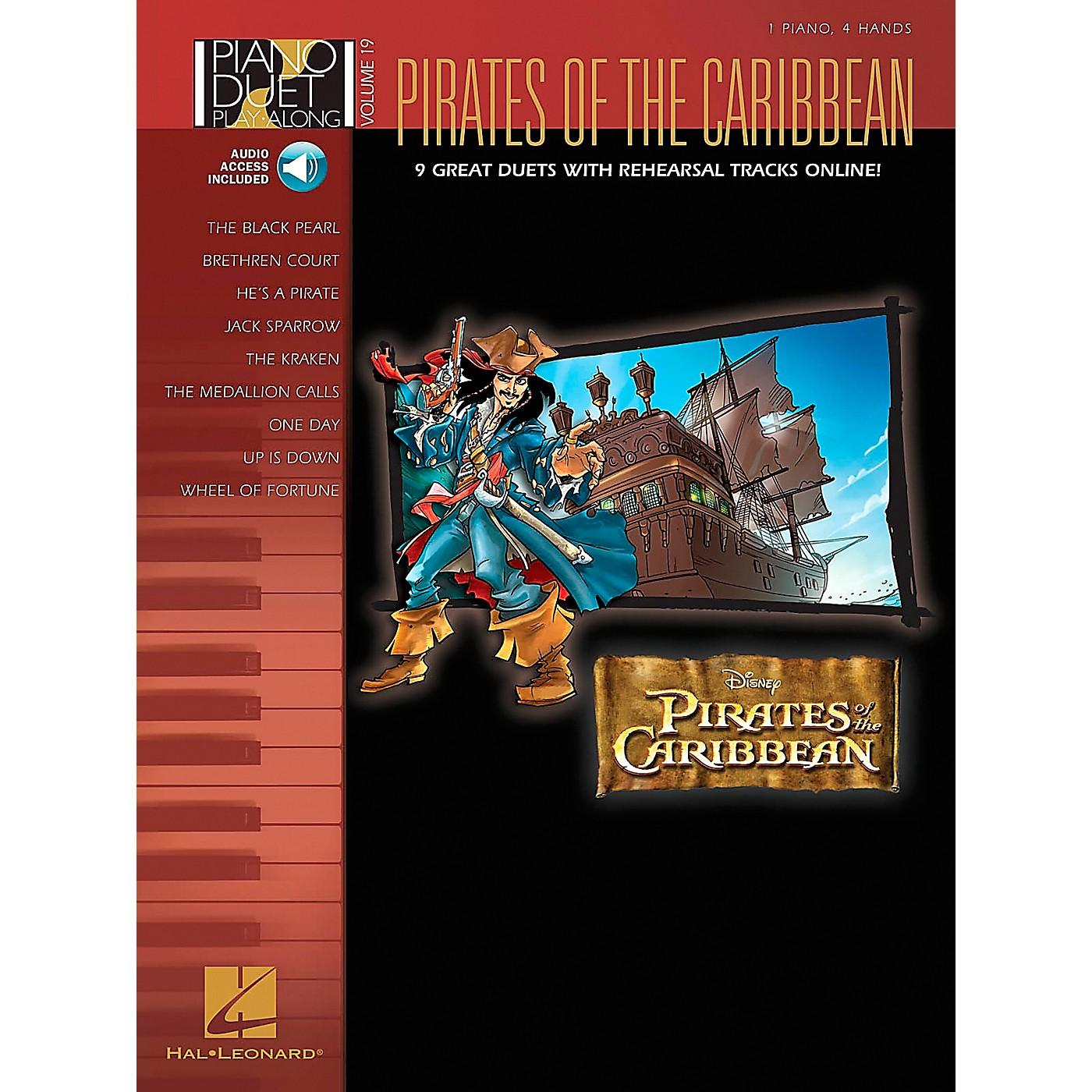 Hal Leonard Pirates Of The Caribbean - Piano Duet Play-Along Volume 19 (CD/Pkg) thumbnail