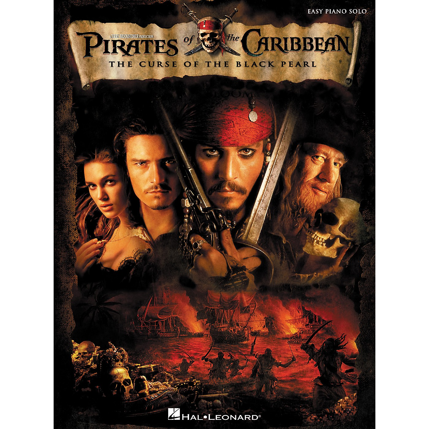 Hal Leonard Pirates Of The Caribbean - The Curse Of The Black Pearl For Easy Piano Solo thumbnail