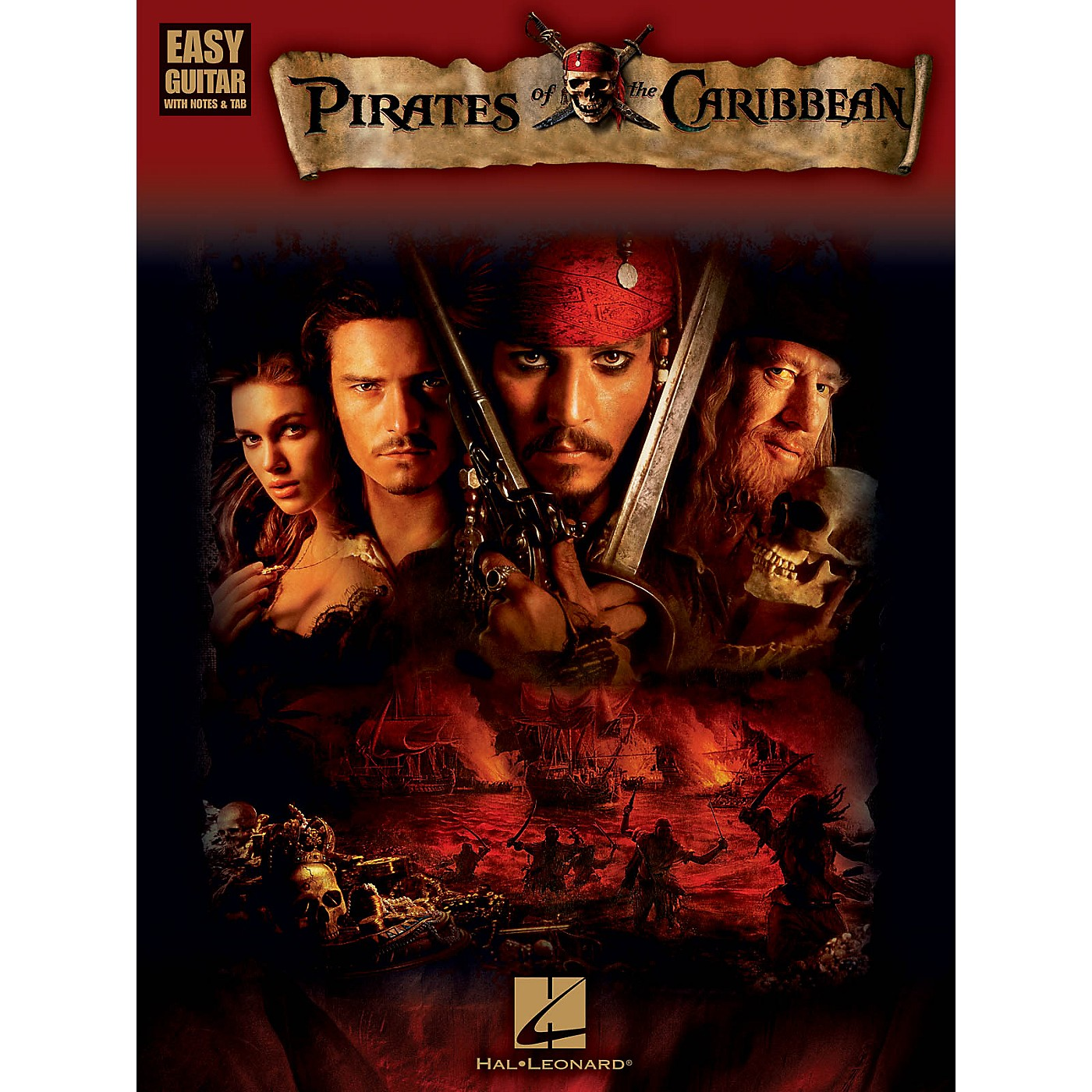 Hal Leonard Pirates Of The Caribbean For Easy Guitar (With Tab) thumbnail