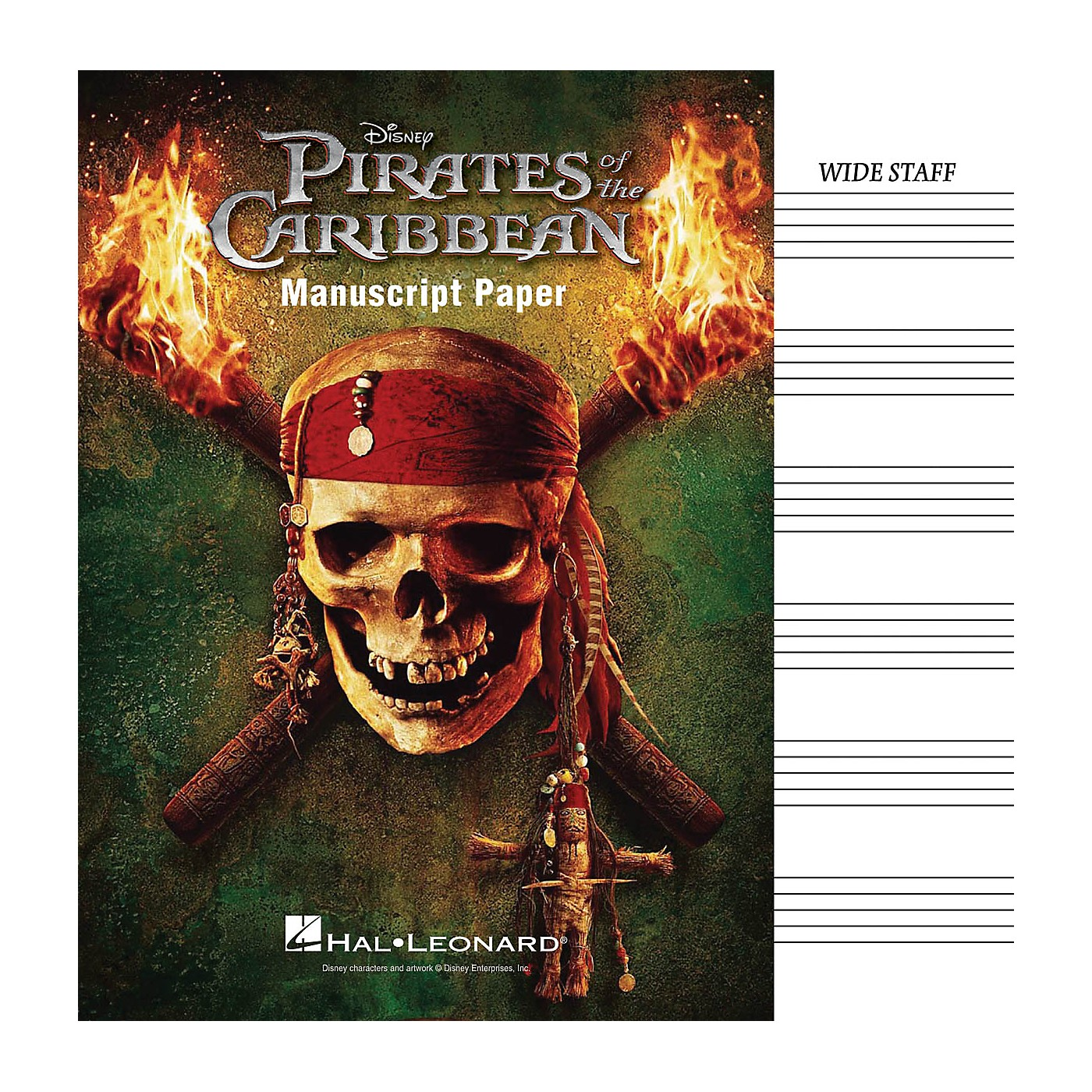 Hal Leonard Pirates Of The Caribbean Manuscript Paper thumbnail