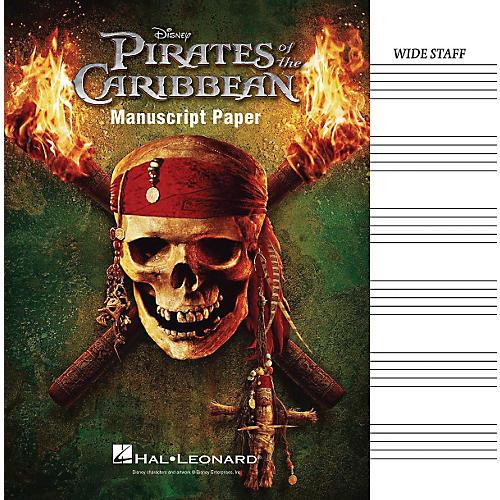 Hal Leonard Pirates Of The Caribbean Manuscript Paper thumbnail
