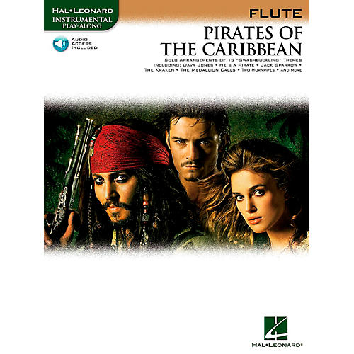 Hal Leonard Pirates Of The Caribbean for Flute Instrumental Play-Along Book/CD thumbnail