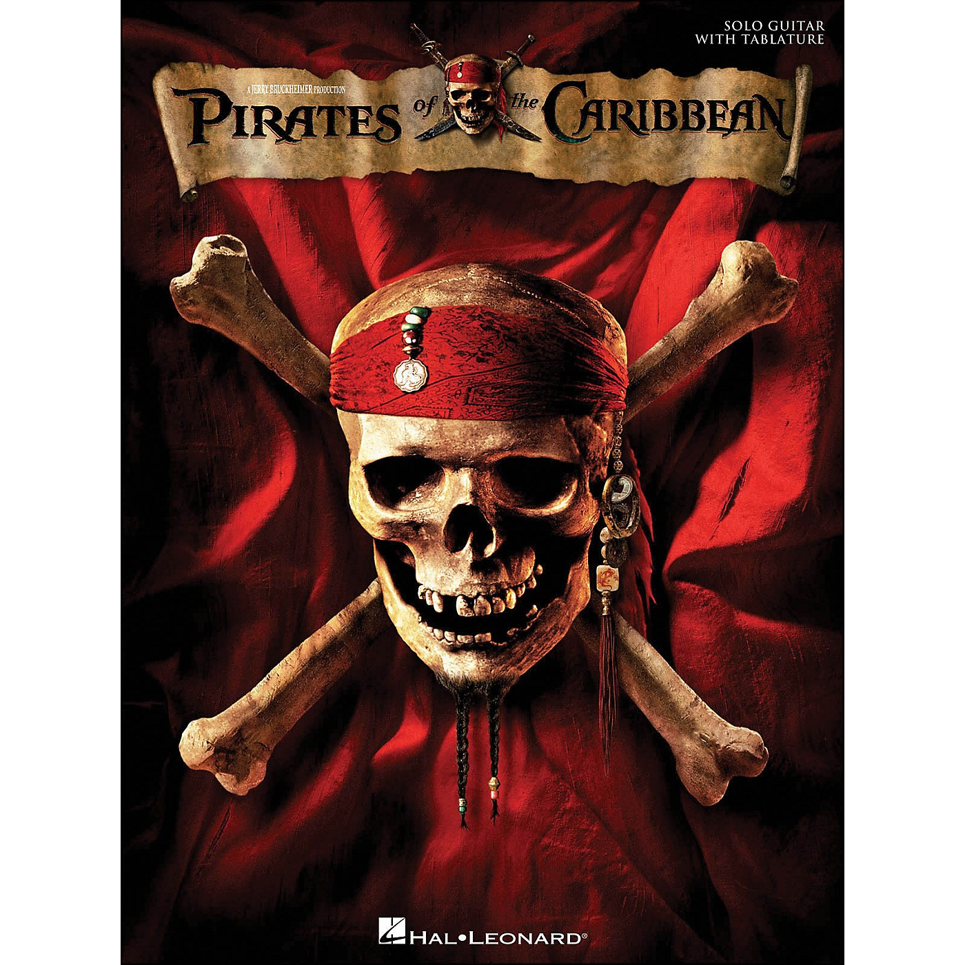 Hal Leonard Pirates Of The Caribbean for Solo Guitar with Tab thumbnail