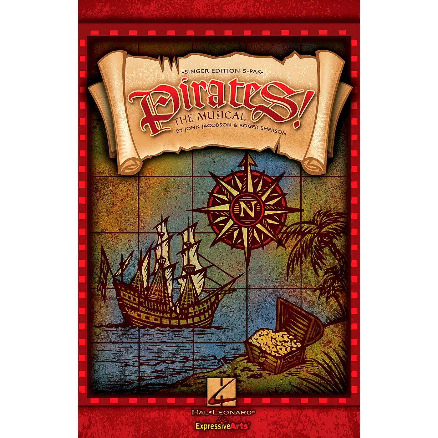 Hal Leonard Pirates! The Musical - Singer's Edition 5 Pak thumbnail