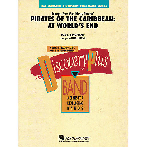 Hal Leonard Pirates of the Caribbean: At World's End (Excerpts from) - Band Level 2 arranged by Brown thumbnail